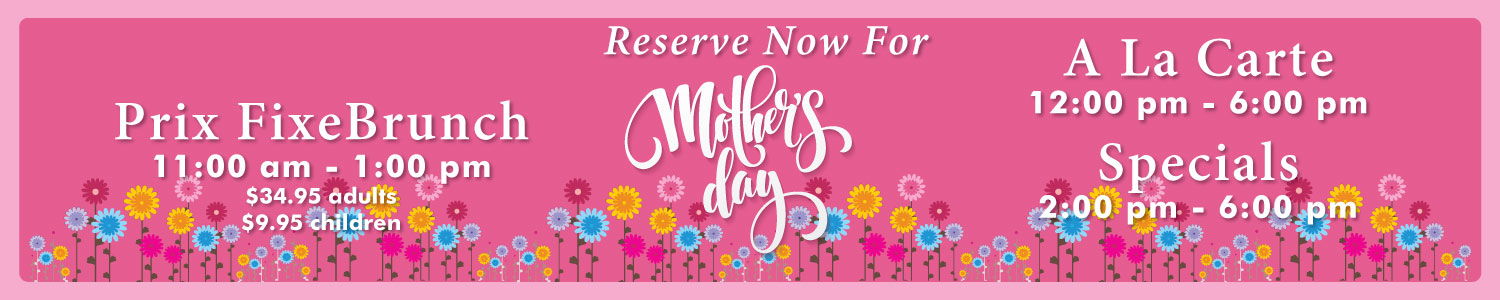 Mother's Day  at the Stage House Tavern in Mountainside, NJ