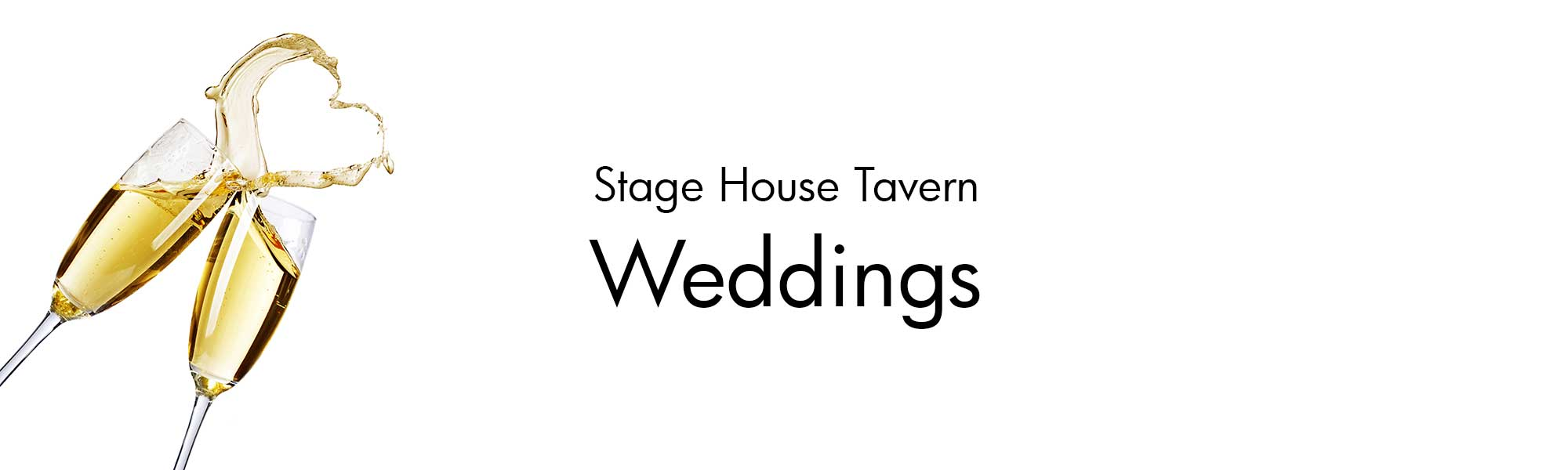 Weddings at the Stage House Tavern in Mountainside, NJ